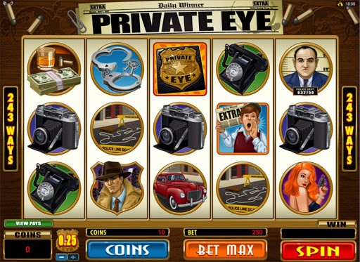 Private Eye Design Layout
