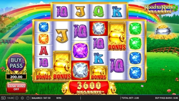 Road to Riches Game Image