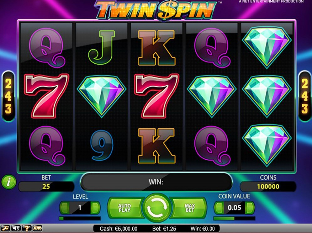 Twin Spin Design